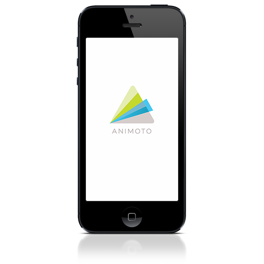Animoto iPhone Application
